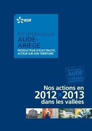 AUDE- ARIEGE - Energie EDF