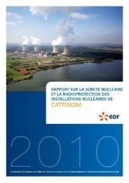 Les installations nucléaires du site de Cattenom - EdF