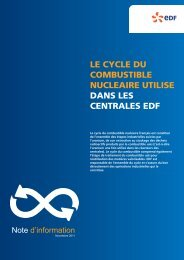NOTE CYCLE COMBUSTIBLE - Energie EDF