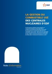 Note d'information - Energie EDF