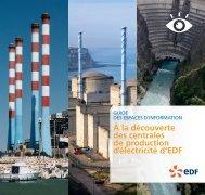 À la découverte des centrales de production d ... - Energie EDF