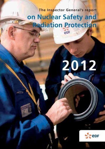 on Nuclear Safety and Radiation Protection - Energie EDF