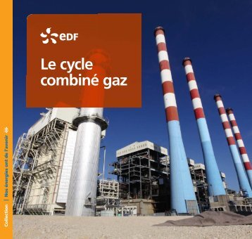 Le cycle combiné gaz - EdF