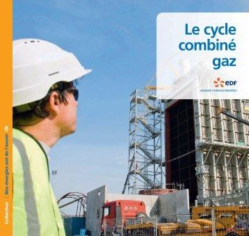 Cycle combiné gaz - EdF