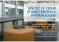 VISITEZ LE CŒUR D'UNE CENTRALE HYDRAULIQUE - Energie EDF