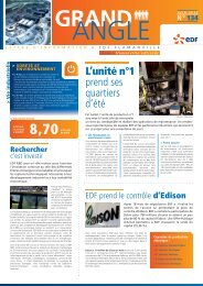 Grand Angle de Juin 2012 n°134 - Energie EDF