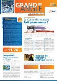 Grand Angle d'Août 2012 n°136 - Energie EDF