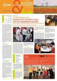 Actualités environnement - Energie EDF