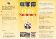 Sommerprogramm 2011 - Colloquium Historicum Wirsbergense