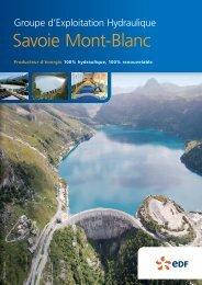 Savoie Mont-Blanc - Energie EDF
