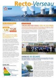 Cruas Recto-Verseau N°27 - Energie EDF