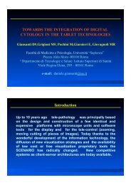TOWARDS THE INTEGRATION OF DIGITAL CYTOLOGY IN THE ...