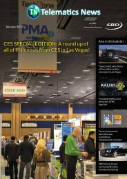 CES SPECIAL EDITION: A round up of all of TN's ... - Telematics News