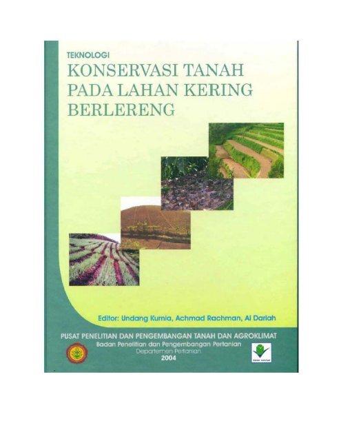 buku lahan kering berlereng pdf - Balai Penelitian Tanah