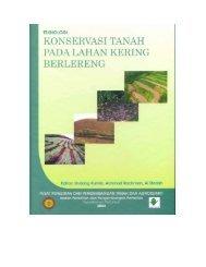 teknologi konservasi tanah pada lahan pertanian berlereng