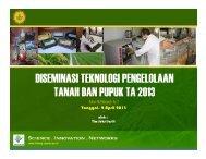 bahan berita website jaslit.pdf - Balai Penelitian Tanah