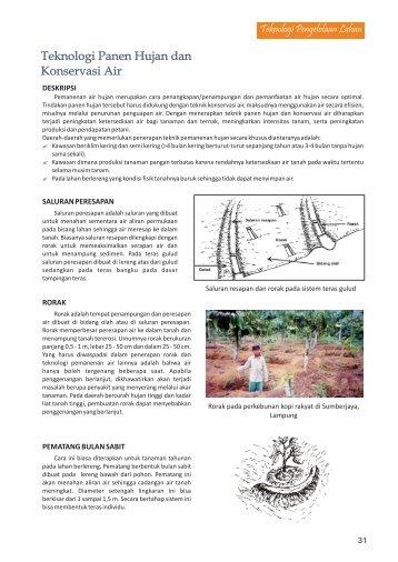 panen hujan.pdf - Balai Penelitian Tanah