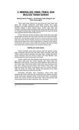 2. MINERALOGI, KIMIA, FISIKA, DAN BIOLOGI TANAH SAWAH