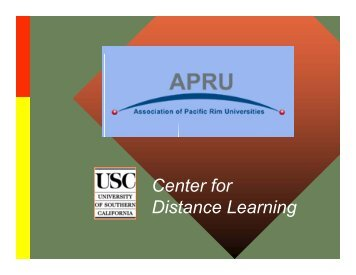 Center for Distance Learning