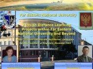 Presentation Slides - Centre for Instructional Technology