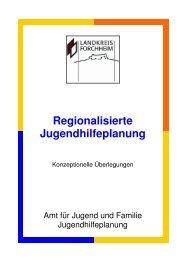 Regionalisierte Jugendhilfeplanung - Konzept - Landkreis Forchheim