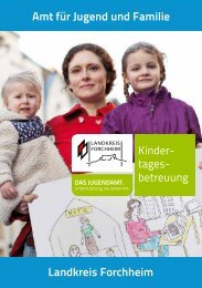 Kindertagesbetreuung - Landkreis Forchheim