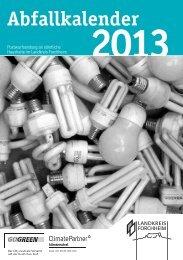 Abfallkalender 2013 - Landkreis Forchheim