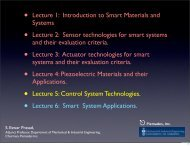 2012 METU Lecture 5 Control of Smart Systems - Department of ...