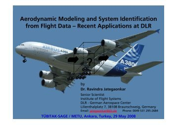 Aerodynamic Modeling and System Identification from Flight Data ...