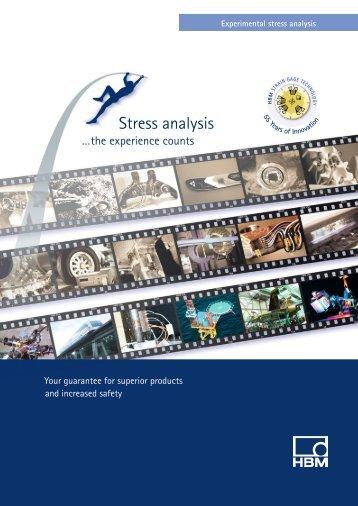 "HBM brochure ""Experimentas Stress Analysis"" English Issue 2006"