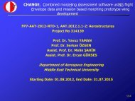 CHANGE, Combined morpHing Assessment software usiNG flight ...