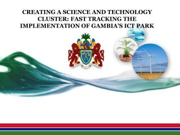 fast tracking the implementation of gambia's ict park