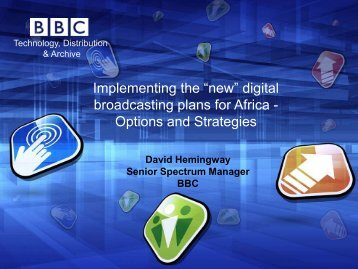"Implementing the ""new"" digital broadcasting plans for Africa ..."
