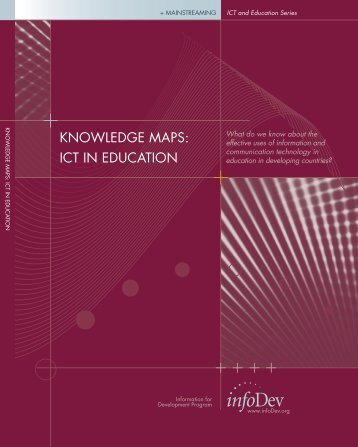 KNOWLEDGE MAPS: ICT IN EDUCATION