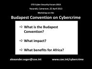 Budapest Convention on Cybercrime