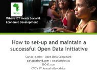 Delivering Secure, Public-Oriented e-Government Facilities in Africa