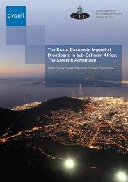 The Socio-Economic Impact of Broadband in sub-Saharan Africa ...