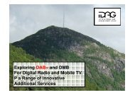Digital Radio Broadcasting