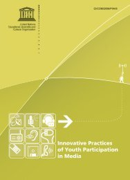 Innovative practices of youth participation in media: a research study ...