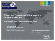 Privacy and Protection of Online Identity in the New Internet Age