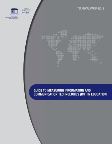 Guide to measuring information and ... - unesdoc - Unesco