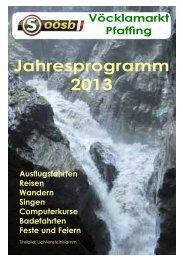 Programm 2013.pdf - OÖ Seniorenbund