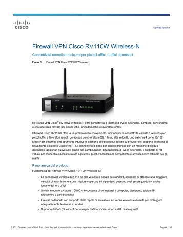 RV110 Datasheet - Amazon Web Services