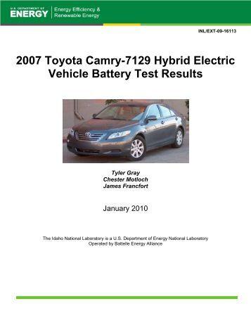 2006 honda civic 8725 hybrid battery test results. Black Bedroom Furniture Sets. Home Design Ideas