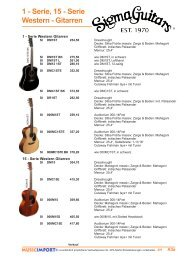 1 - Serie, 15 - Serie Western - Gitarren