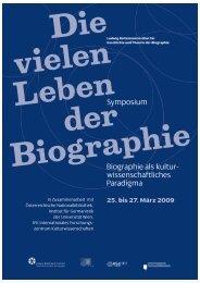 LBI_Biographie Plakat:Layout 1 - Ludwig Boltzmann Institut für ...