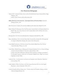 New Historicism bibliography - Ludwig Boltzmann Institut für ...