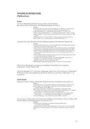 wilhelm hemecker - Ludwig Boltzmann Institut für Geschichte und ...