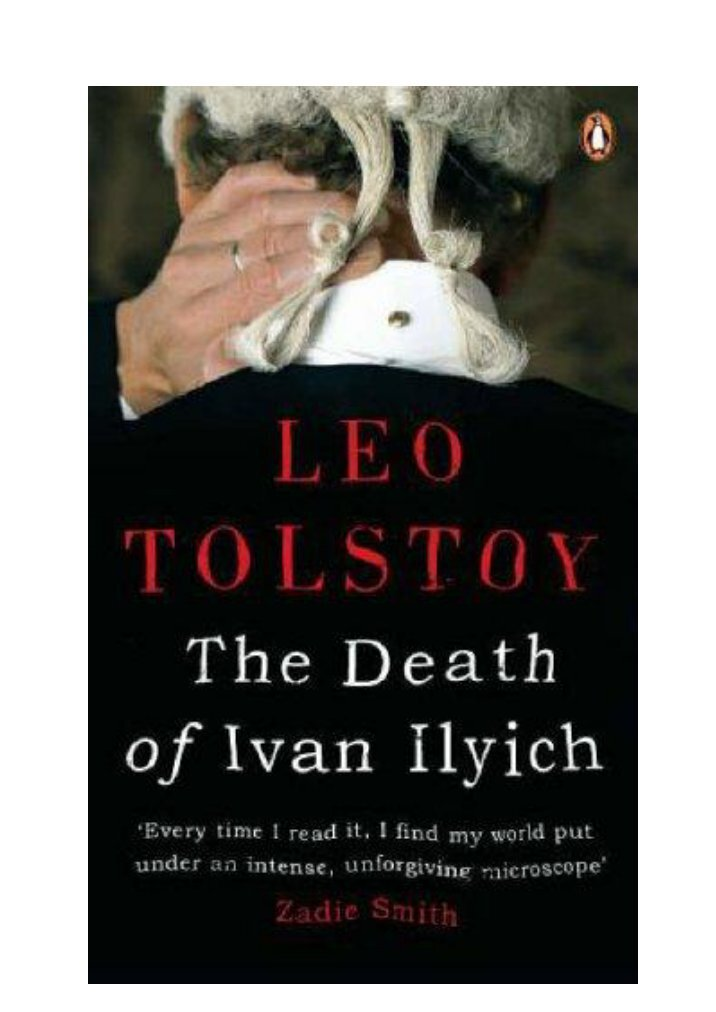 the death of ivan ilyich essay