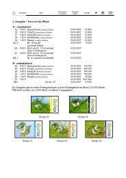 3. Ausgabe – Tiere auf der Wiese A - Pin-mail-online.de